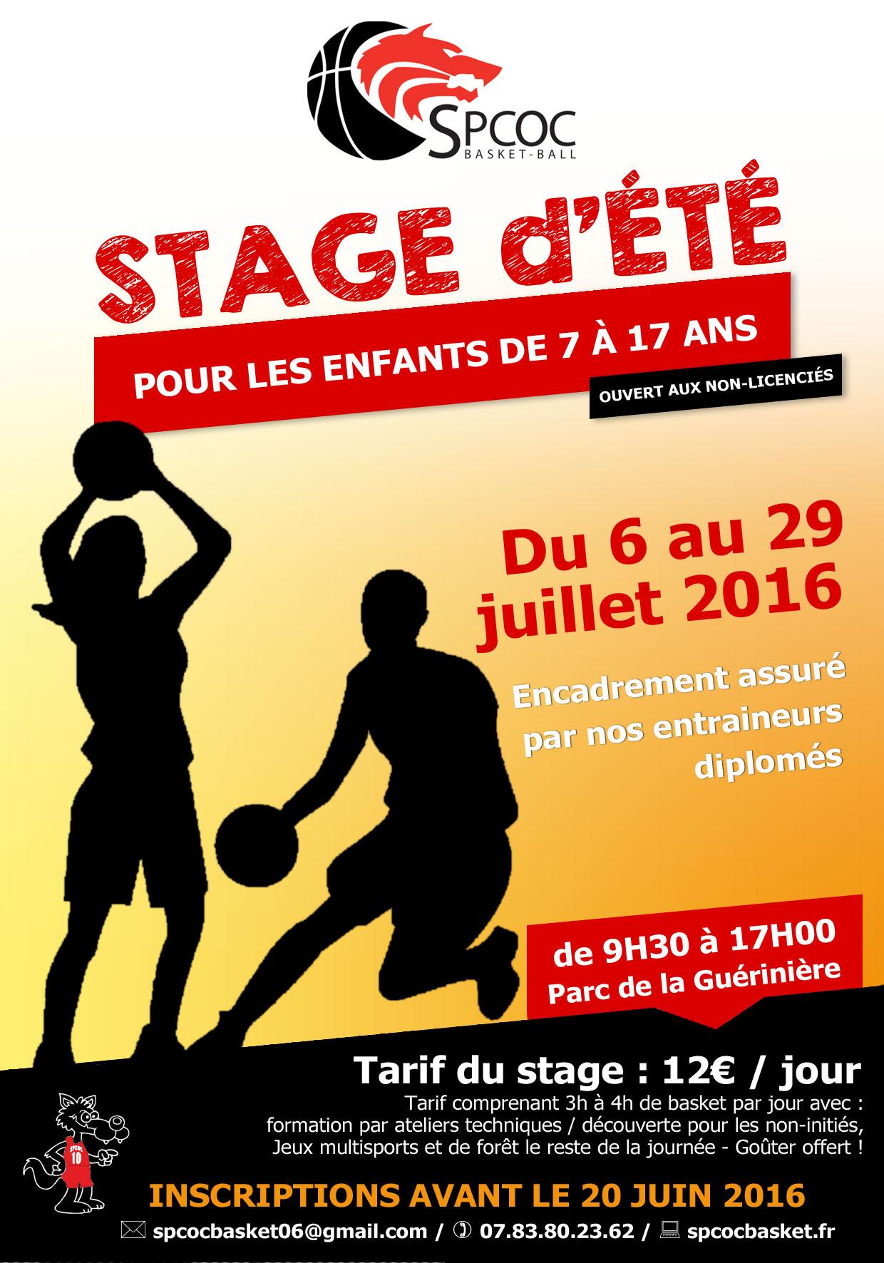 Stage Été 2016