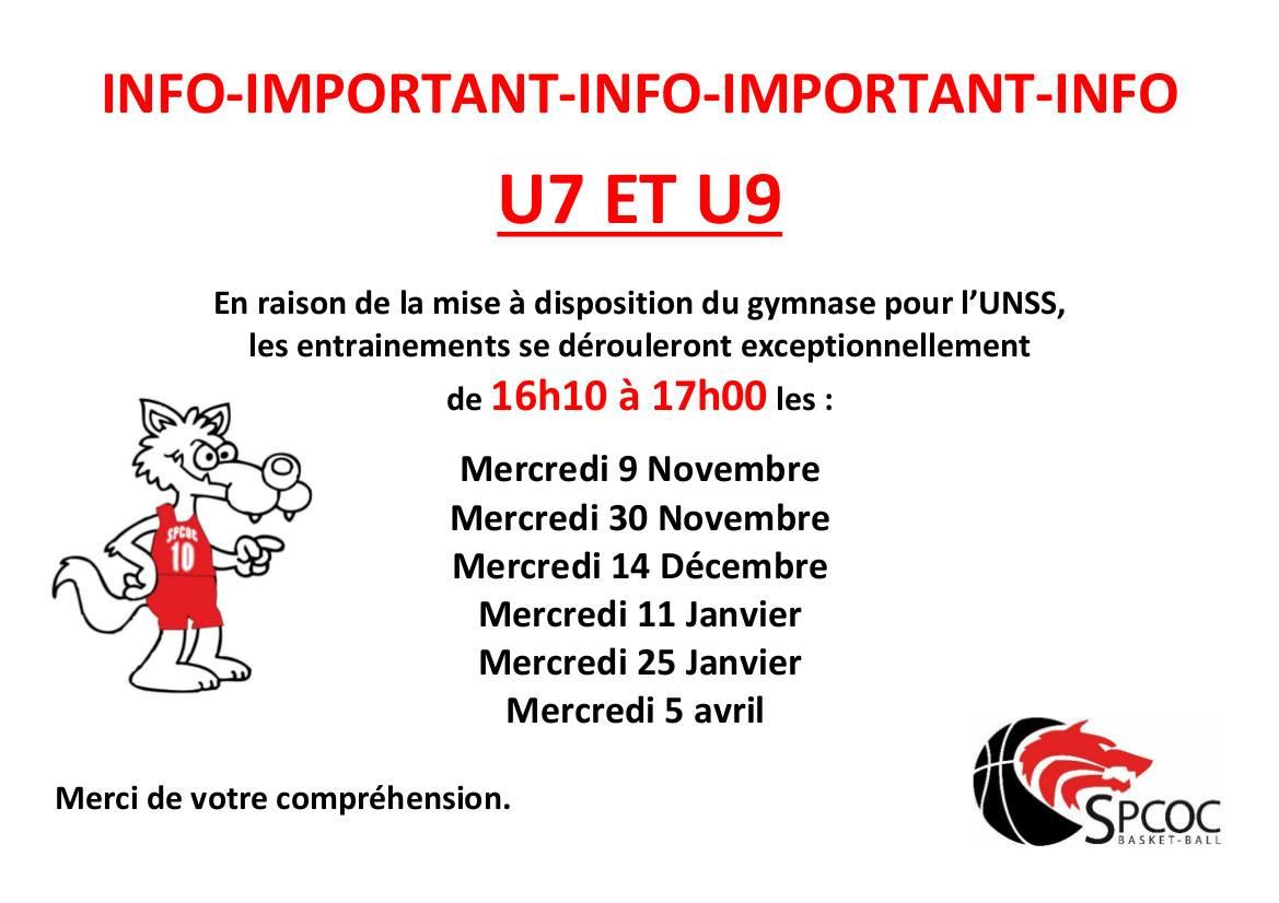 Planning U7-U9