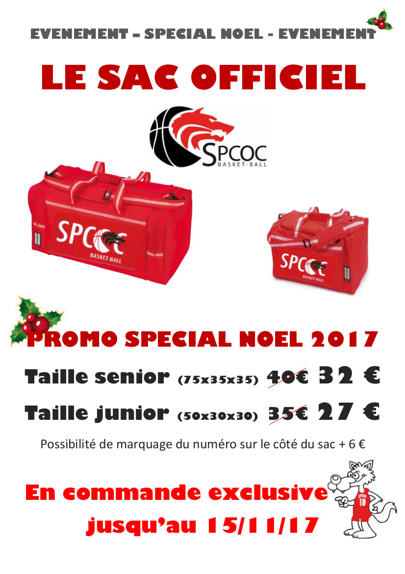 Sac officiel promo 2017
