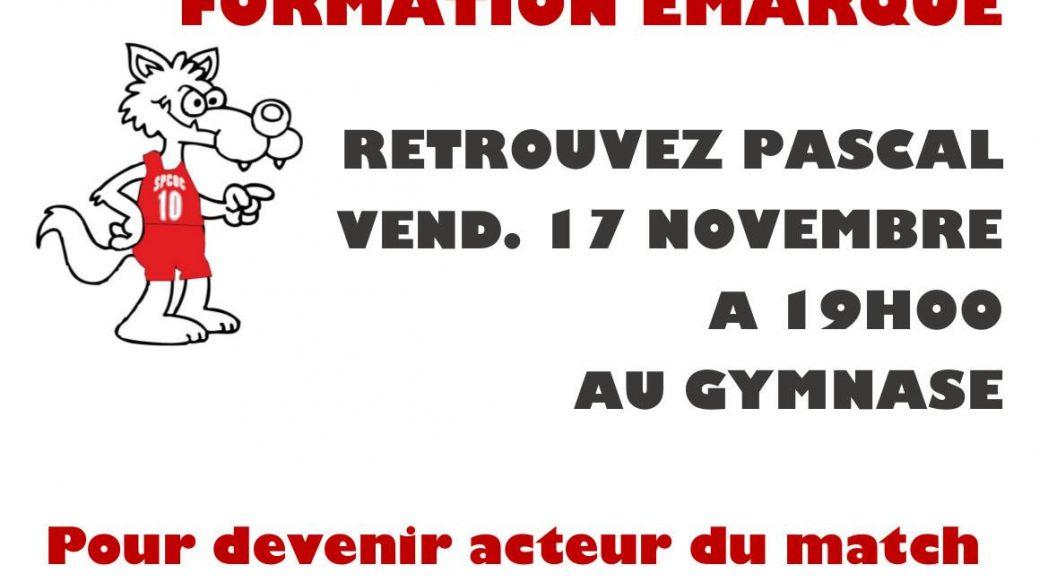 Formation e-marque vendredi 17 novembre